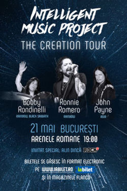 Concert The Creation Tour 2021/ Intelligent Music Project feat. Ronnie Romero, Bobby Rondinelli & John Payne