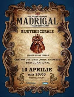 Overground Showroom: Concert Madrigal  Bijuterii Corale live la Amfiteatrul Eminescu