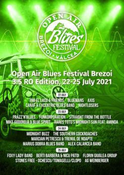 Open Air Blues Festival Brezoi 3.5 RO Edition