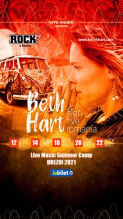Beth Hart - High Five Romania - Summer Camp Brezoi