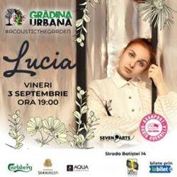 Concert LUCIA #acousticintheGarden