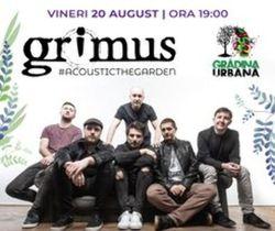 Concert GRIMUS #acousticintheGarden