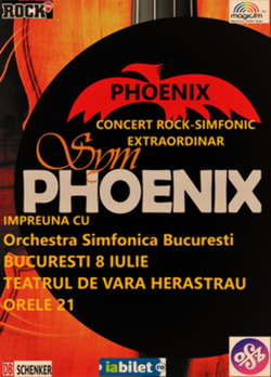 SIMPHOENIX - concert rock simfonic extraordinar la Bucuresti
