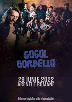 Concert Gogol Bordello la Bucuresti pe 29 iunie 2022