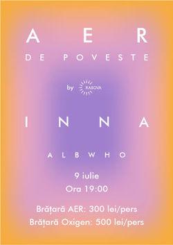 Cernavoda : AER de Poveste - Concert Inna