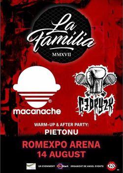 Concert La Familia, Macanache, Cedry2k, Pietonu la Romexpo