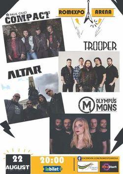 Concert Compact - Paul Ciuci / Trooper / Altar / Olympus Mons