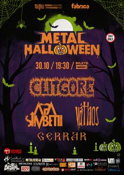Metal Halloween - Clitgore, Apa Simbetii, Vthos, Gerrar