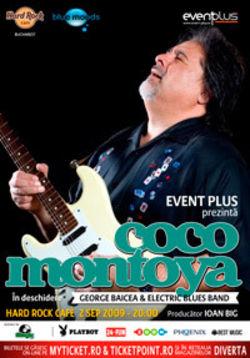 Concert Coco Montoya la Hard Rock Cafe