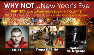 La WHY NOT...New Year's Eve poti castiga un weekend la munte