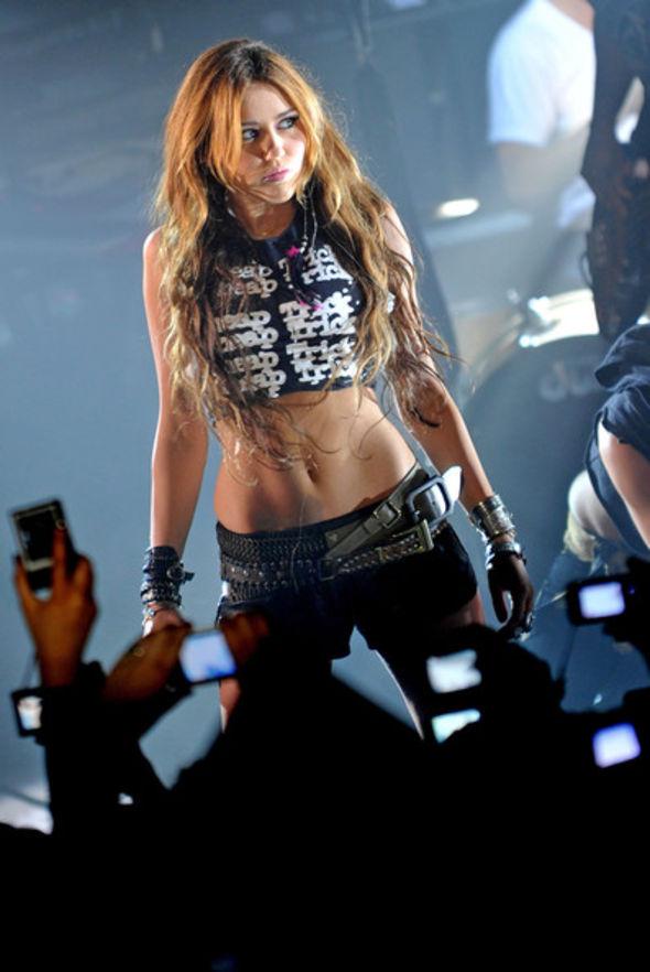 Miley Cyrus Studded Belt