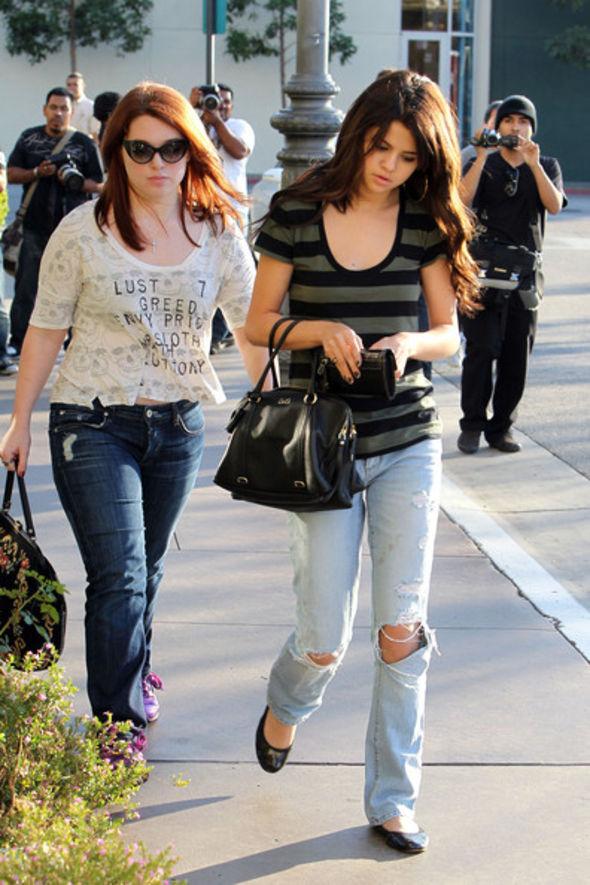 Selena Gomez Ripped Jeans