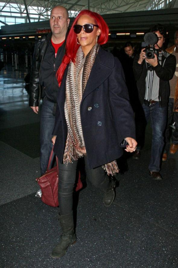 Rihanna Pea Coat