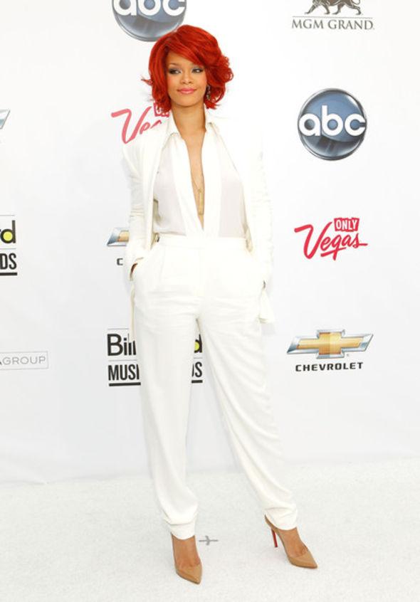 Rihanna Pantsuit
