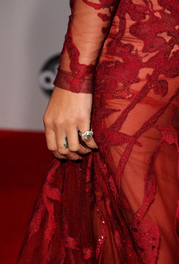 Rihanna Diamond Ring
