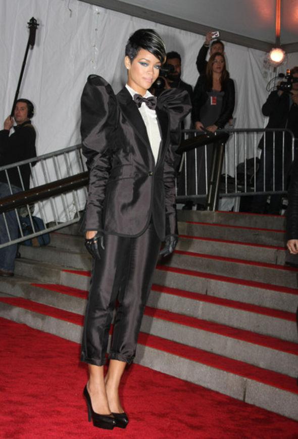 Rihanna Bowtie