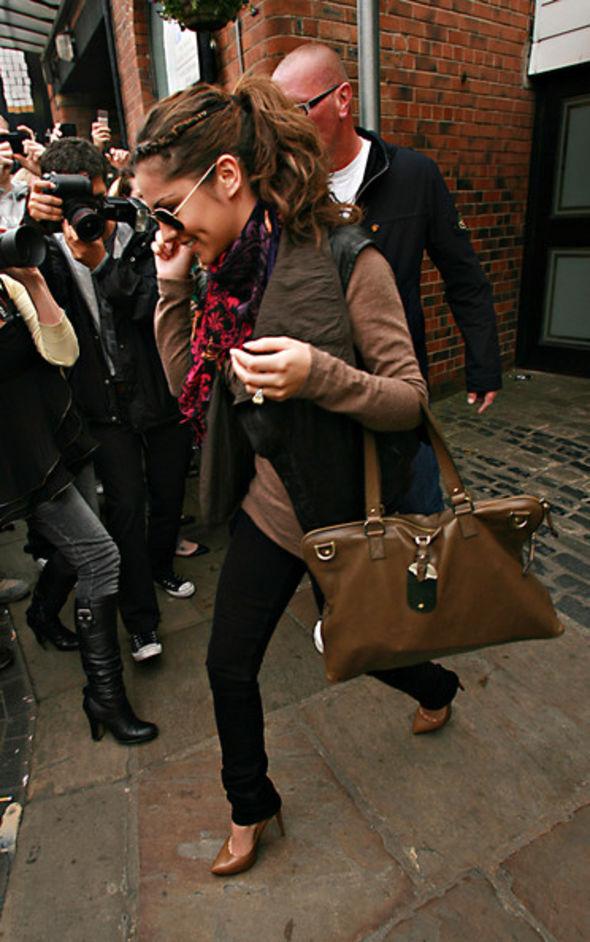 Cheryl Cole Leather Shoulder Bag