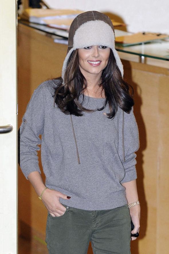 Cheryl Cole Earflap Wool Cap