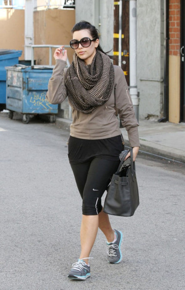 Kim Kardashian Running Shoes