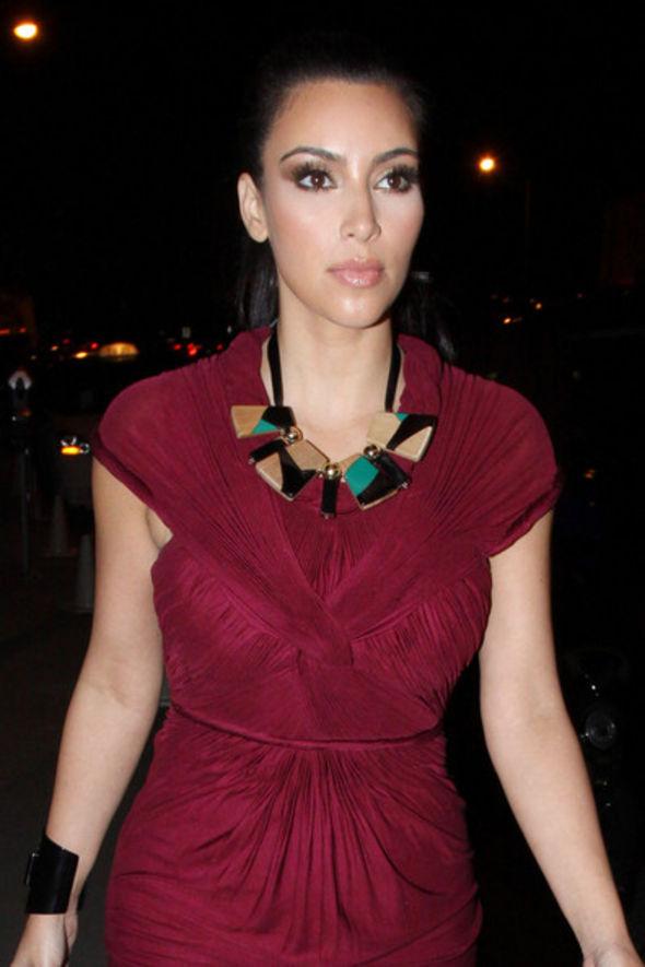 Kim Kardashian Black Statement Necklace