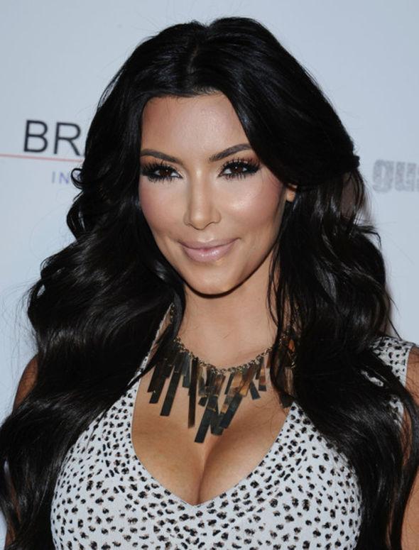 Kim Kardashian Bronze Statement Necklace