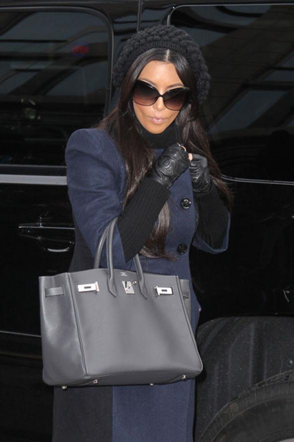 Kim Kardashian Fingerless Gloves