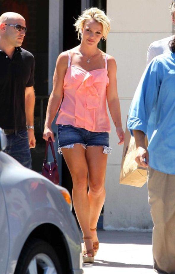 Britney Spears Jean Shorts