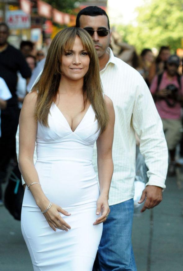 Jennifer Lopez Long Straight Cut with Bangs