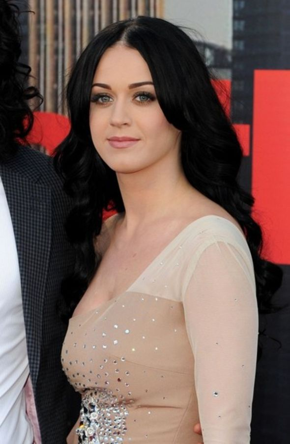 Katy Perry Long Curls