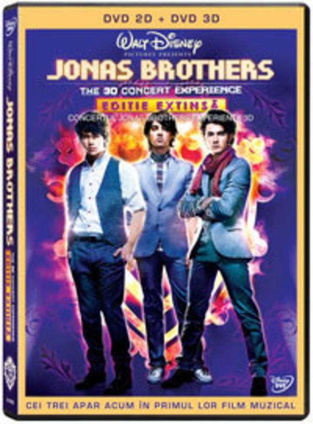Castiga un DVD cu Jonas Brothers!