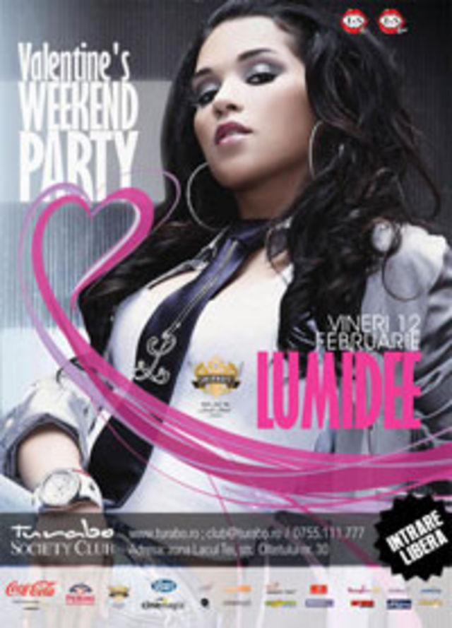 Valentine`s Weekend Party cu Lumidee la Turabo