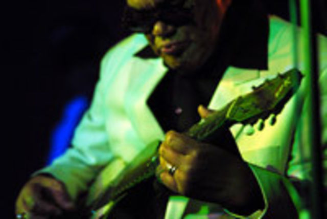 Louisiana Red - super blues la Hard Rock Cafe, Bucuresti
