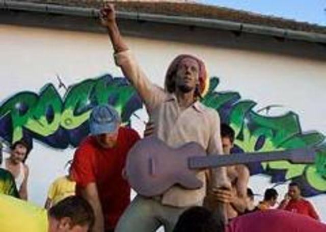 Prima statuie europeana a lui Bob Marley - dezvelita in fosta Yugoslavie