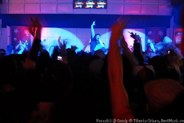 concert Parazitii lansare la Gossip