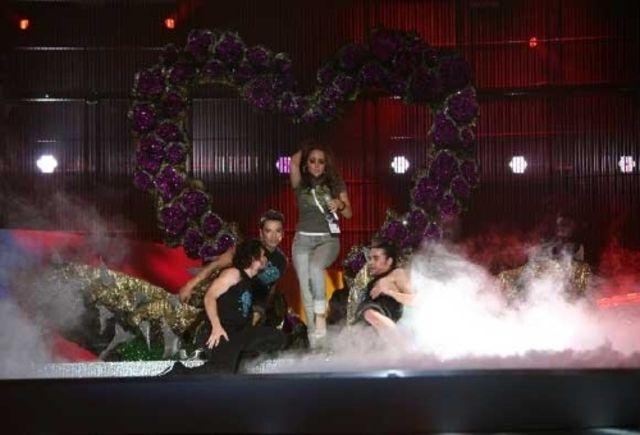 Kalomira la Belgrad, repetitii pentru Eurovision