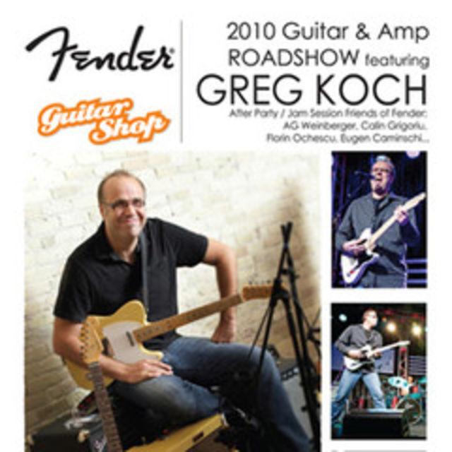 Fender Guitar & Amp RoadShow 2010 la Bucuresti