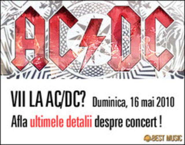 Black Ice World Tour - AC/DC - ajunge duminica la Bucuresti (poze)
