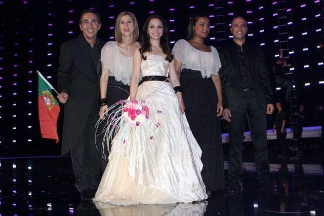 Poze Eurovision 2010 - Portugalia