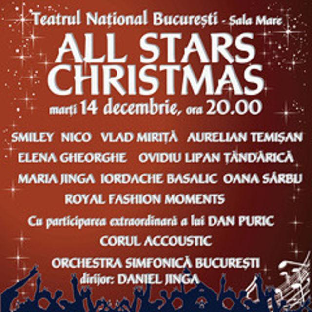 All Stars Christmas: 14 decembrie – Teatrul National Bucuresti