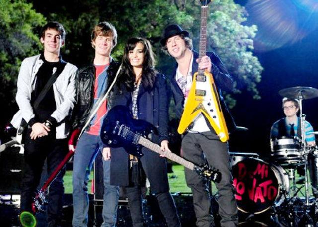 Demi Lovato, filmari clip Don't Forget