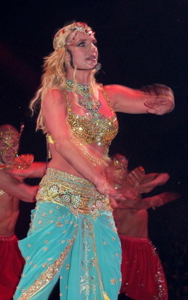 Britney Spears, poze de la primul concert din turneul Circus