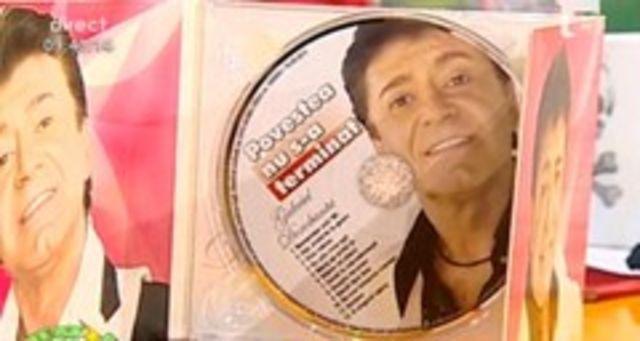 Gabriel Dorobantu, la ultimul album din cariera (video)