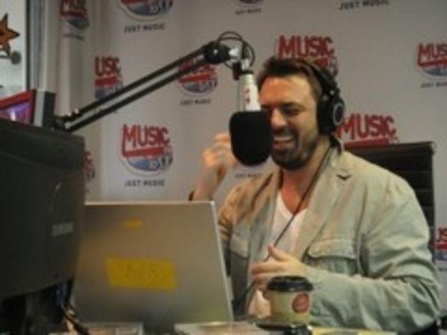 Horia Brenciu, DJ la Music FM (poze)