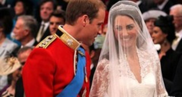 Vezi POZE NUNTA regala: Printul William si Kate Middleton (foto)