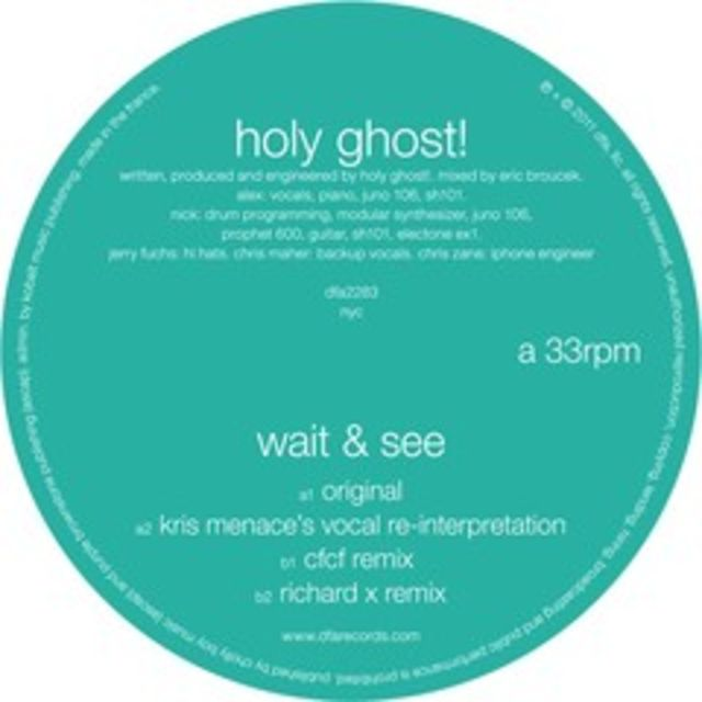 Download Holy Ghost! - Wait And See (CFCF Remix)