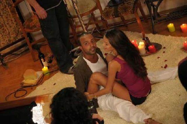 Arash, la filmarea videoclipului Pure Love
