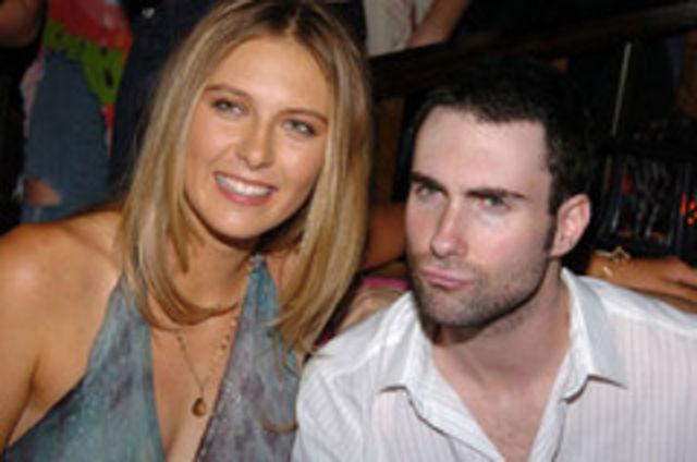 6. Adam Levine, dezamagit de Maria Sharapova