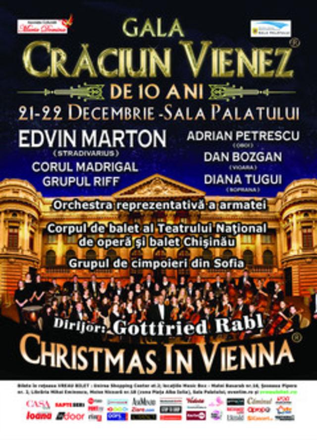 'Gala Craciun Vienez': Edvin Marton canta la Sala Palatului pe 4 milioane de Euro!