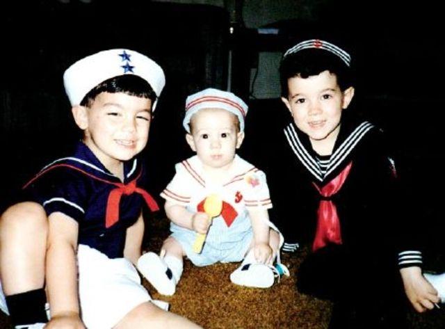 Jonas Brothers cand erau mici