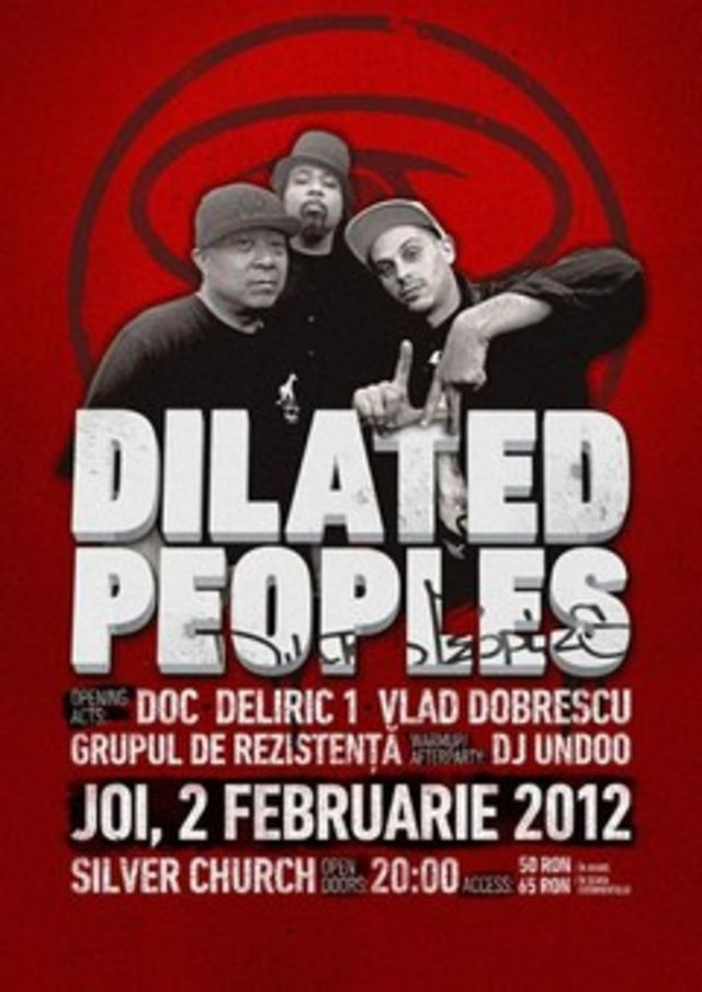 Concert Dilated Peoples/CTC/Grupul de Rezistenta/Undoo in Silver Church